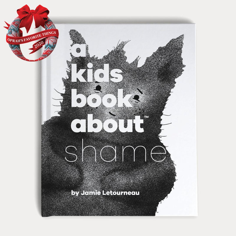 A Spread of A Kids Book About Shame