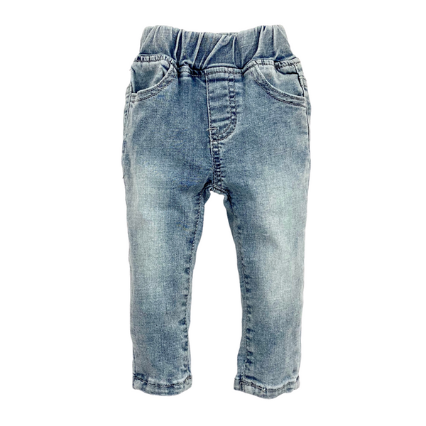 Light Wash Denim Pants - Little Bipsy