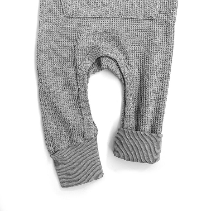 Thermal Romper (Grey) - Little Bipsy