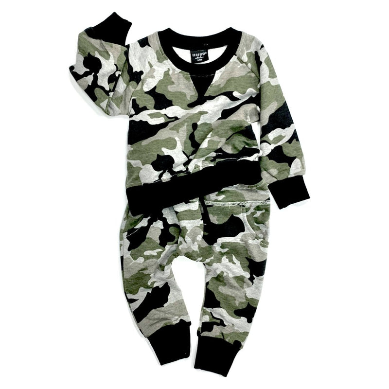 Pullover (Camo) - Little Bipsy - also pictured camo joggers