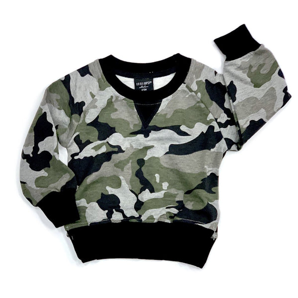 Pullover (Camo) - Little Bipsy