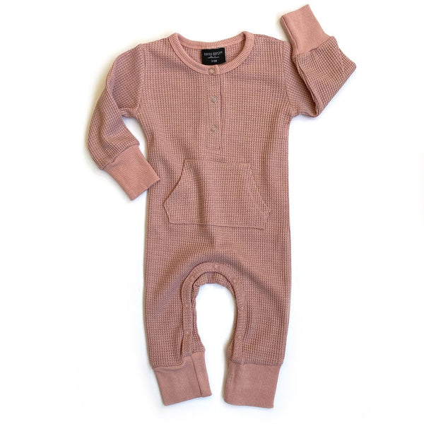 Thermal Romper (Mauve) - Little Bipsy