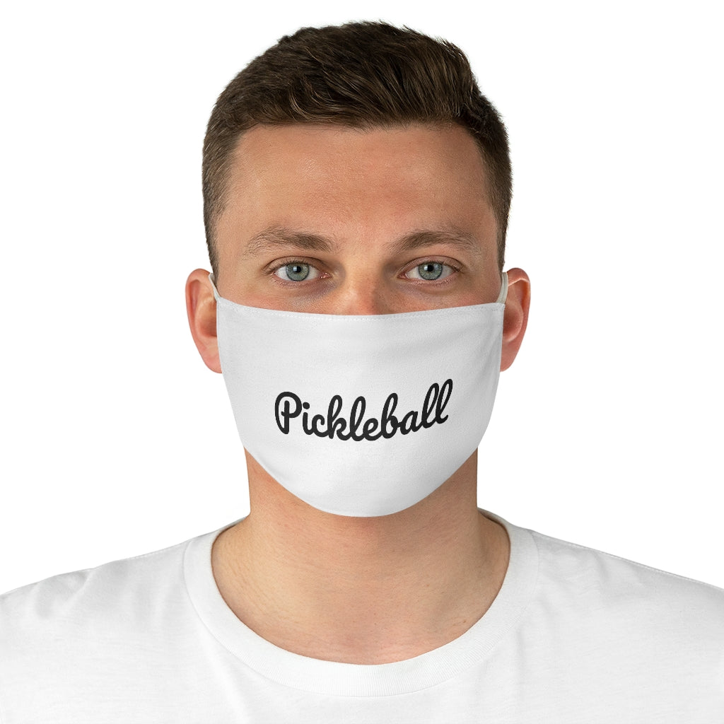 Simple Pickleball Fabric Face Mask Version 2 (AlienX)