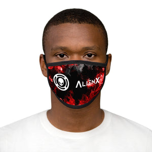 (NEW) AlienX Face Mask, Black Border