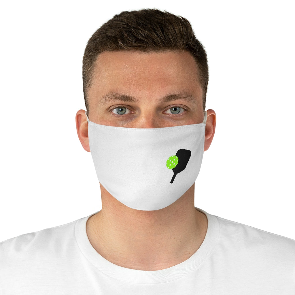 Simple Pickleball Fabric Face Mask (AlienX)