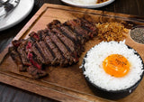 wagyu-skirt-steak-rice-egg-pepper
