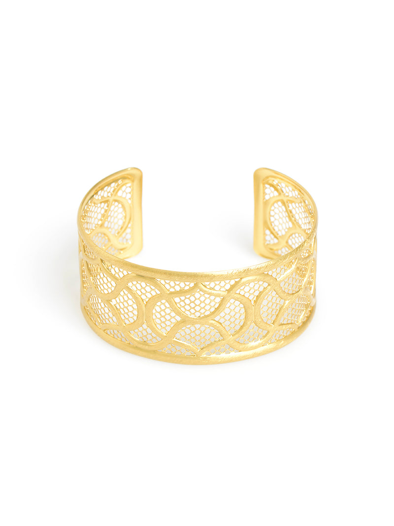 Fenced In Cuff Bracelet
