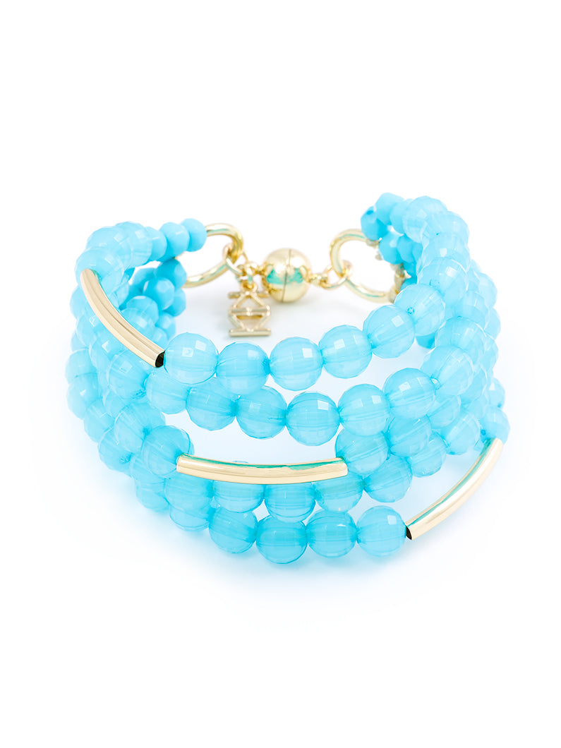 Catch the Wave Beaded Bracelet