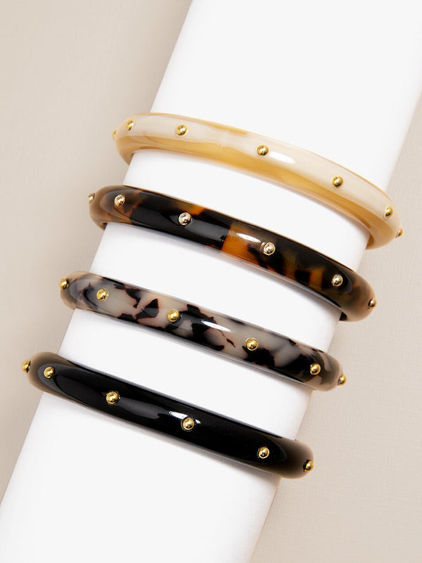 Studded Rebel Bangle Bracelet