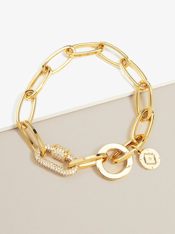 The Muse Crystal Link Bracelet