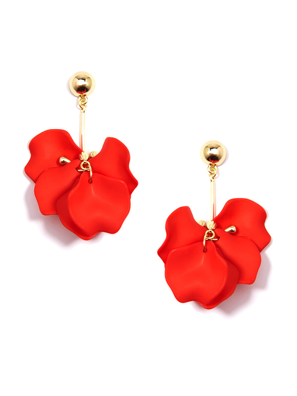 Painted Petals Earring