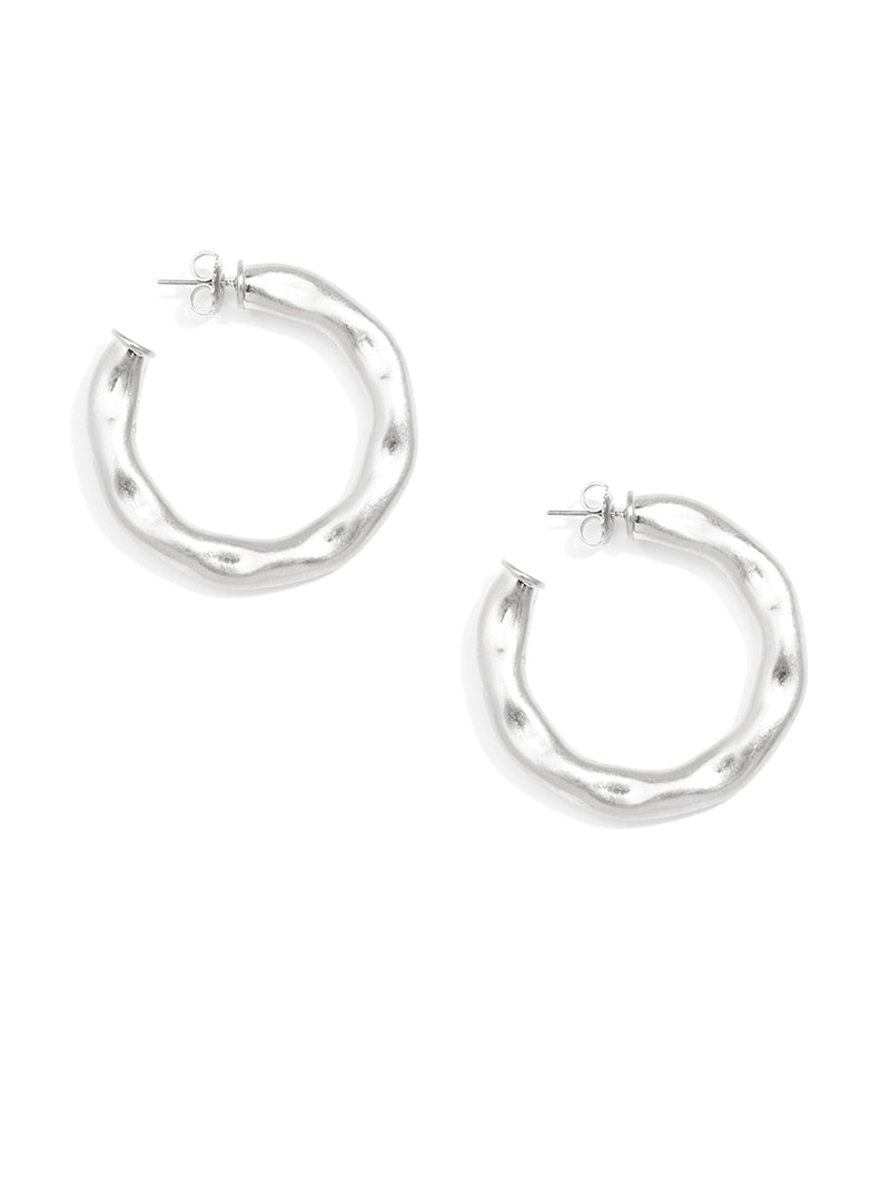 Safari Hoop Earring