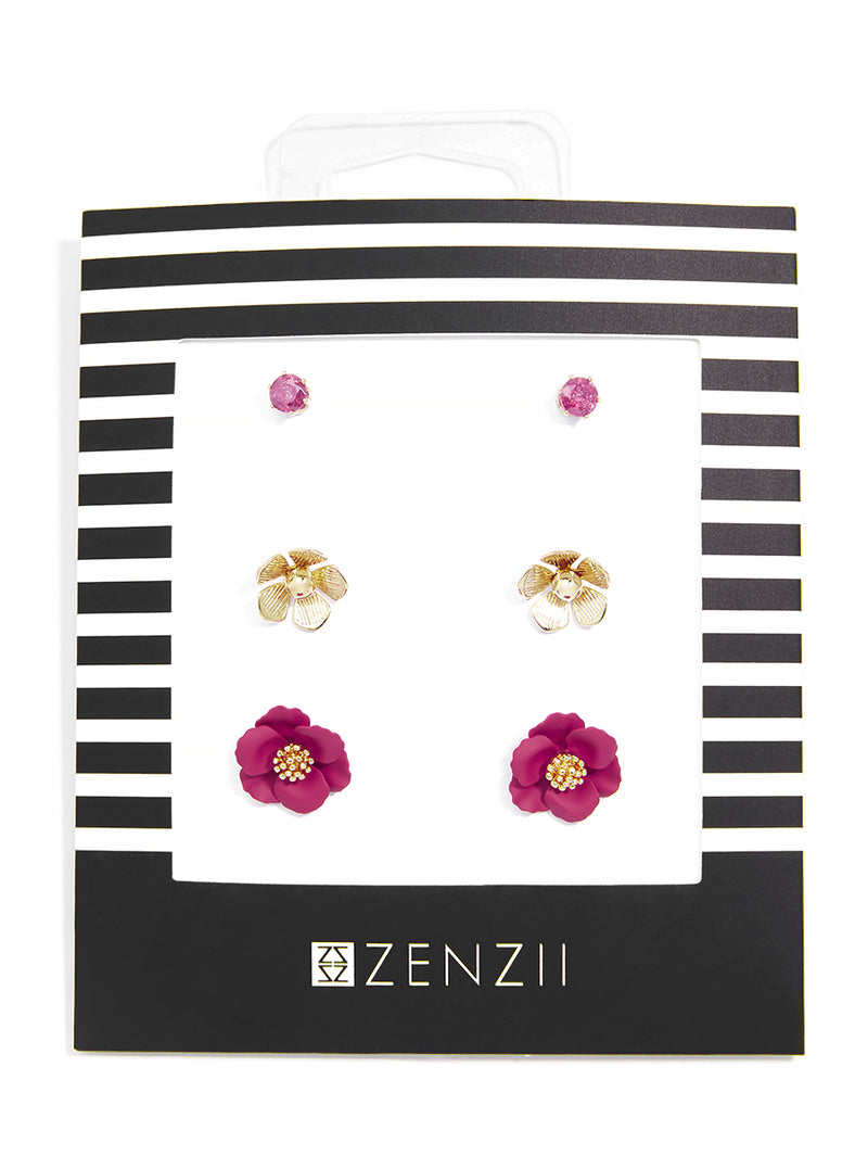 Mary Mini Blossoms Earring Gift Set