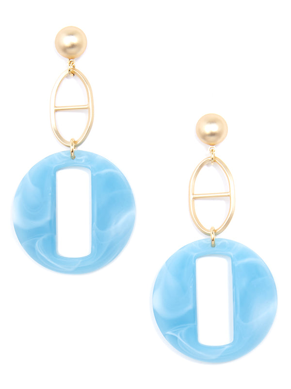 Cloud Link and Mariner Drop Earring