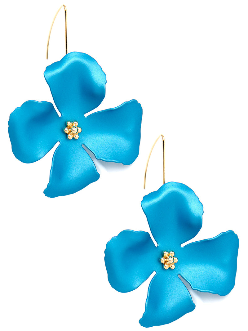 Chroma Petals Threader Earring