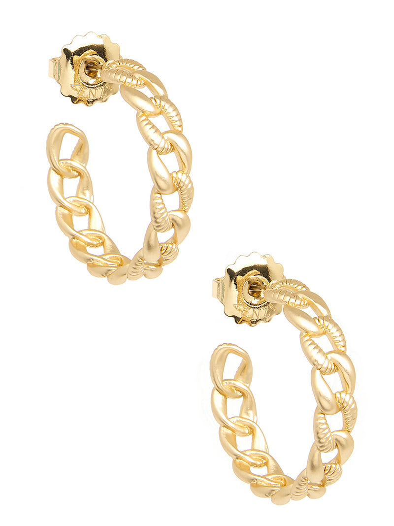 Brandi Braided Hoop Earring