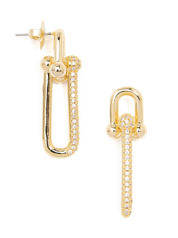Billie Crystal Drop Earring
