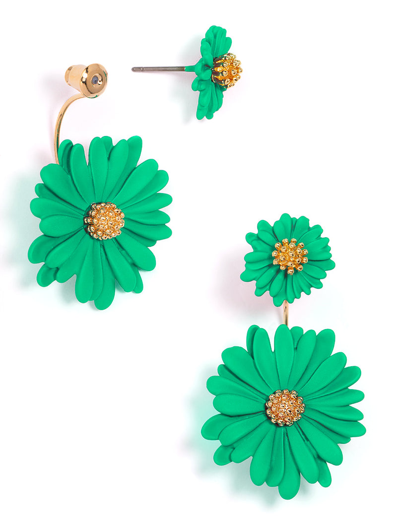 Ida Two-Piece Flower Earring