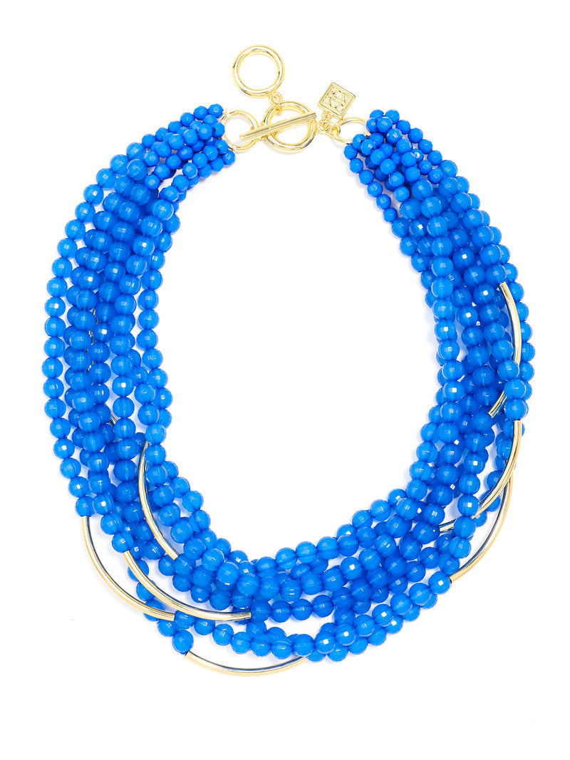 Catch The Wave Beaded Necklace