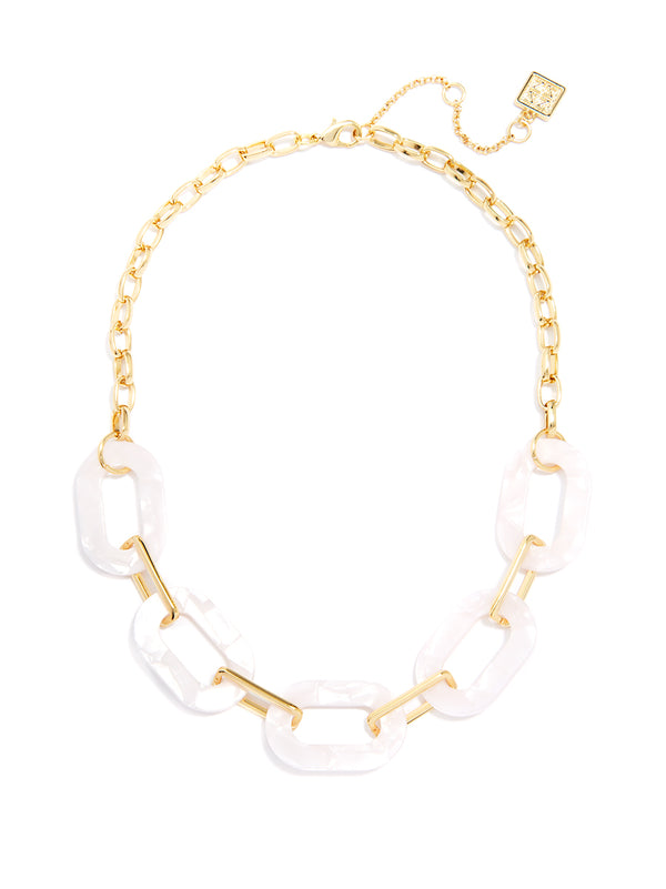 Tortoise Luxe Links Necklace
