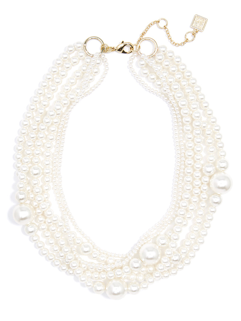Picture Perfect Pearl Collar Necklace