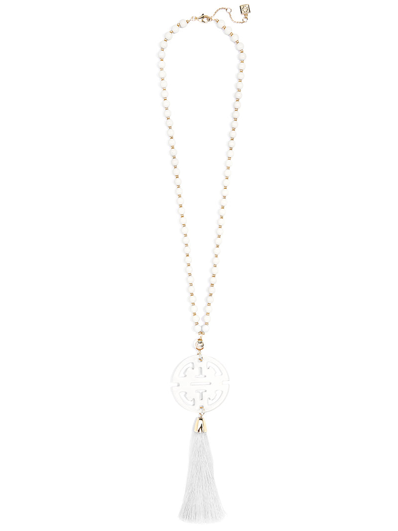 Nellie Tassel Pendant Necklace