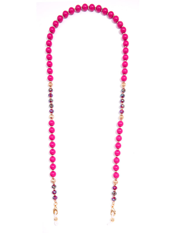 Colorful Beaded Convertible Mask Chain