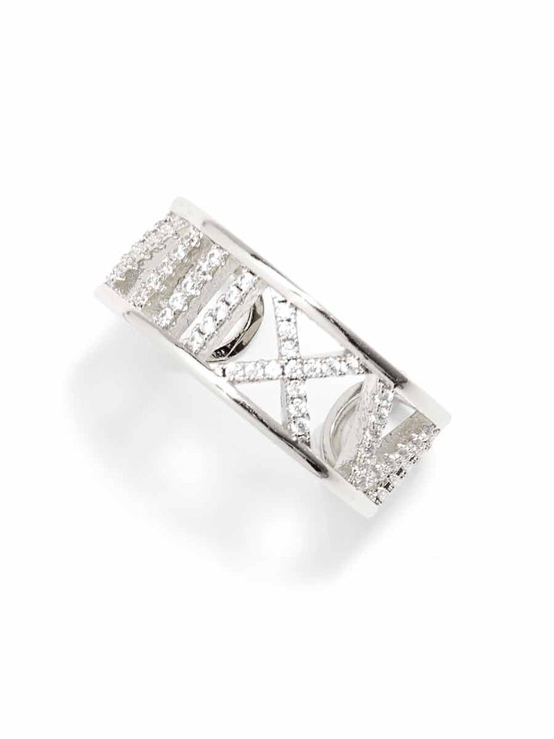 Alexi Crystal Cut-Out Ring