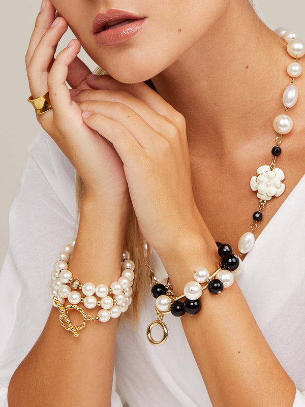 Pop of Pearls Bracelet