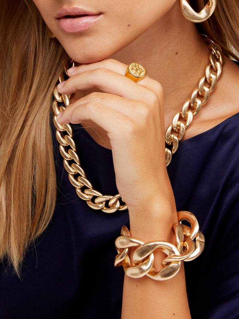 Camilla Large Curb Chain Bracelet