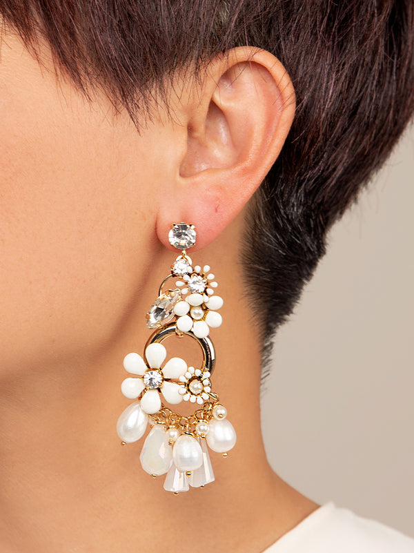 Hattie Flower Earring