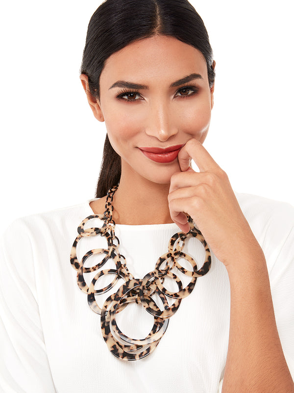 Torti-With-A-Twist Statement Necklace