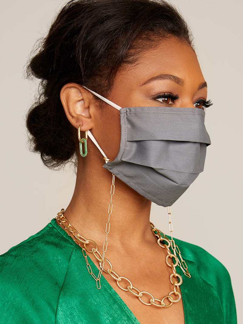 Classic Matte Link Convertible Mask Chain