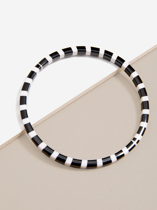 Striped Bangle Bracelet