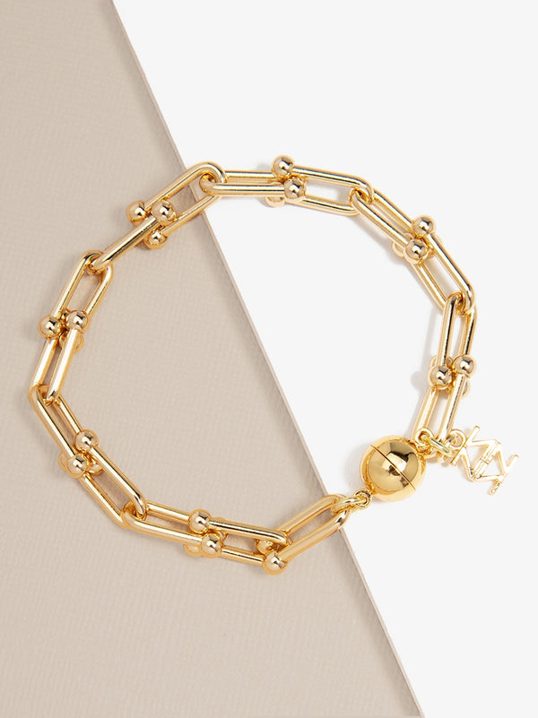 Linked Clips Bracelet