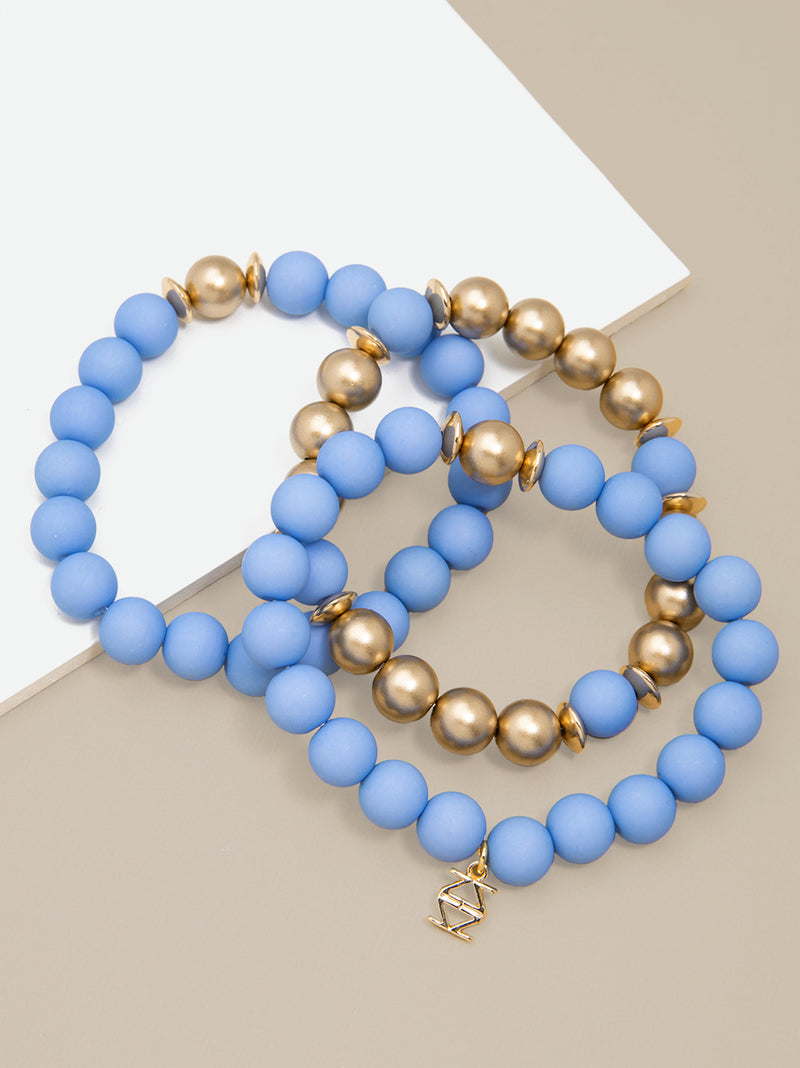 Make It Happen Matte Beaded Bracelet