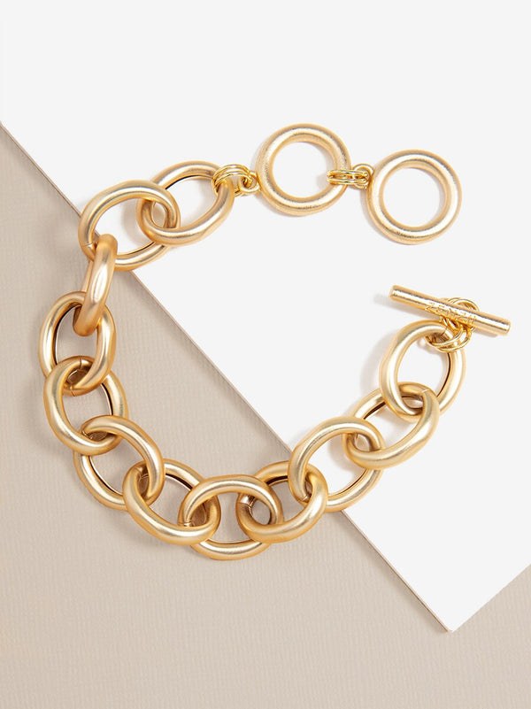 Link Up Gold Chain Bracelet