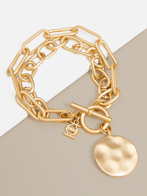 Mercy Links Coin Bracelet