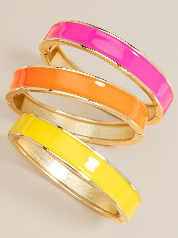 Color Me Happy Bangle Bracelet