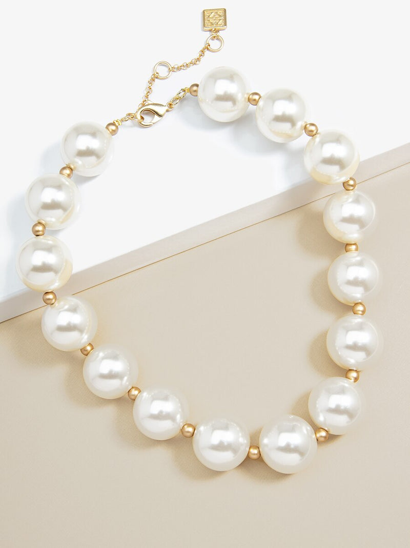 Sweetheart Pearl Necklace