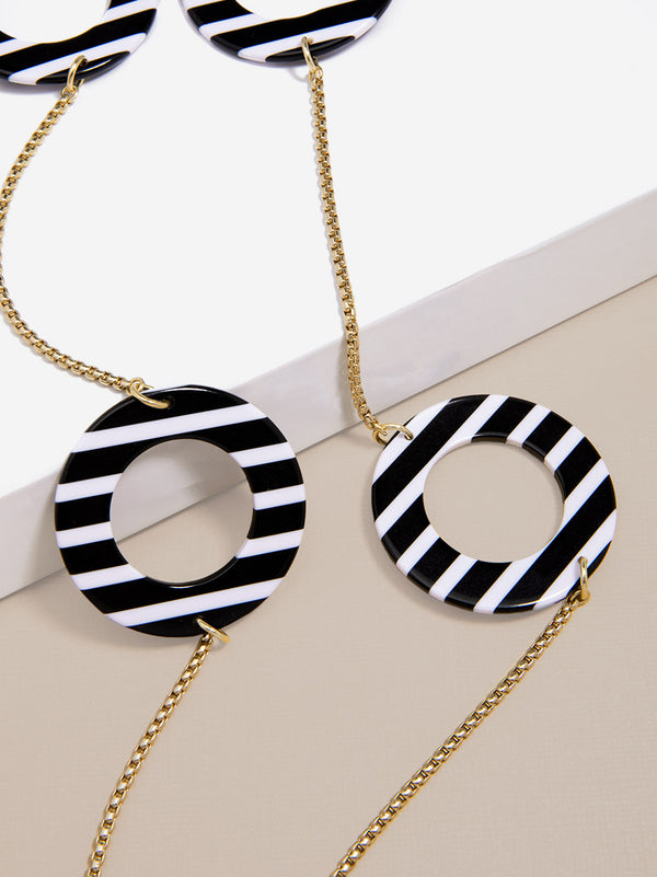 Seeing Stripes Long Necklace