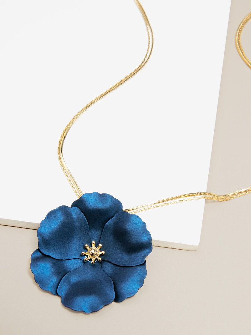 Flower Power Pendant Necklace
