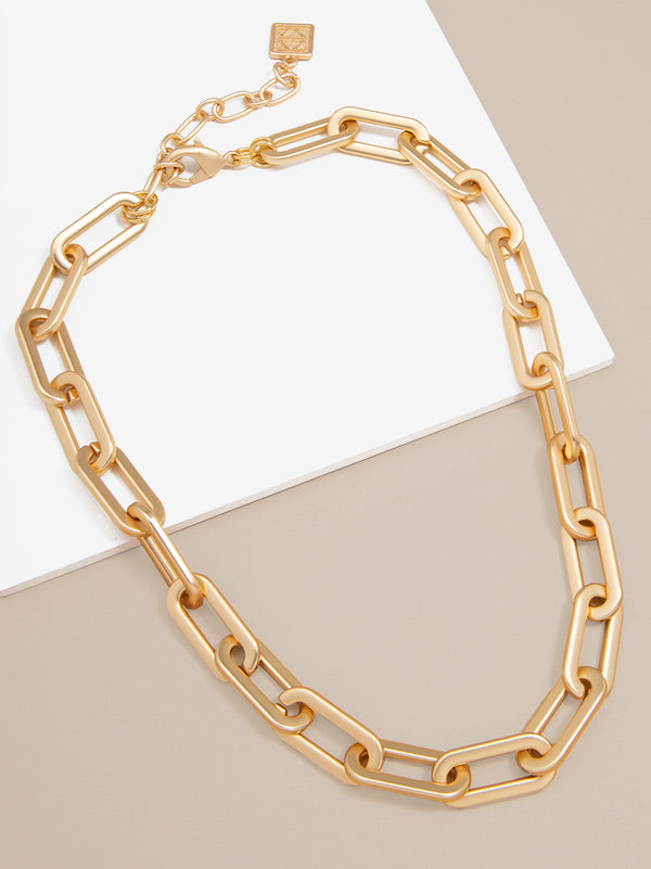 Forever Linked Chain Collar Necklace
