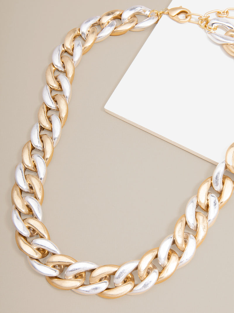 Camilla Curb Chain Collar Necklace