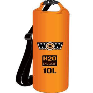 WOW Watersports H2O Proof Dry Bag - Orange 10 Liter