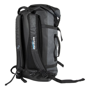 Ronstan Dry Roll Top - 55L Backpack - Black  Grey