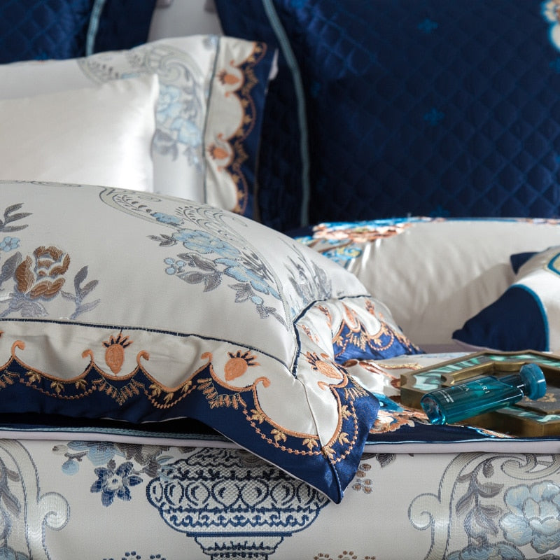 Silver Golden Bedding Set
