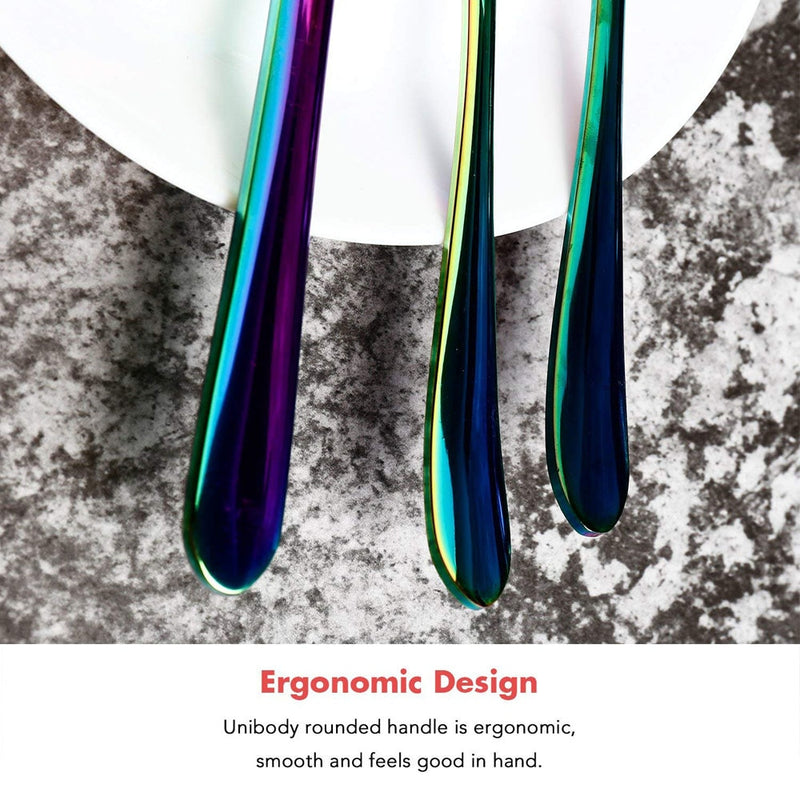 Luxury Rainbow Flatware Set