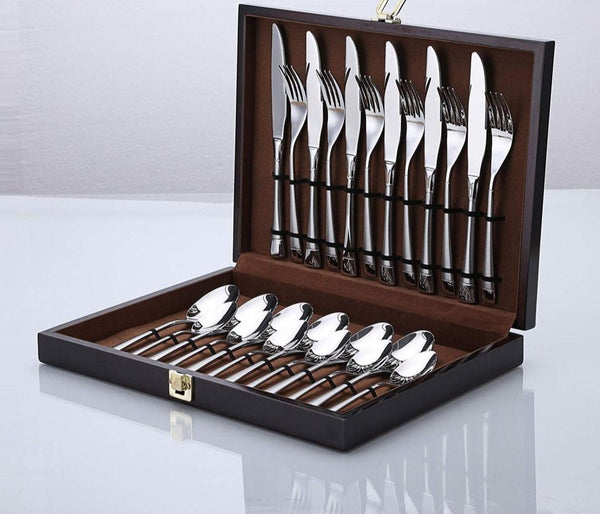 Luxe Stainless Flatware Set