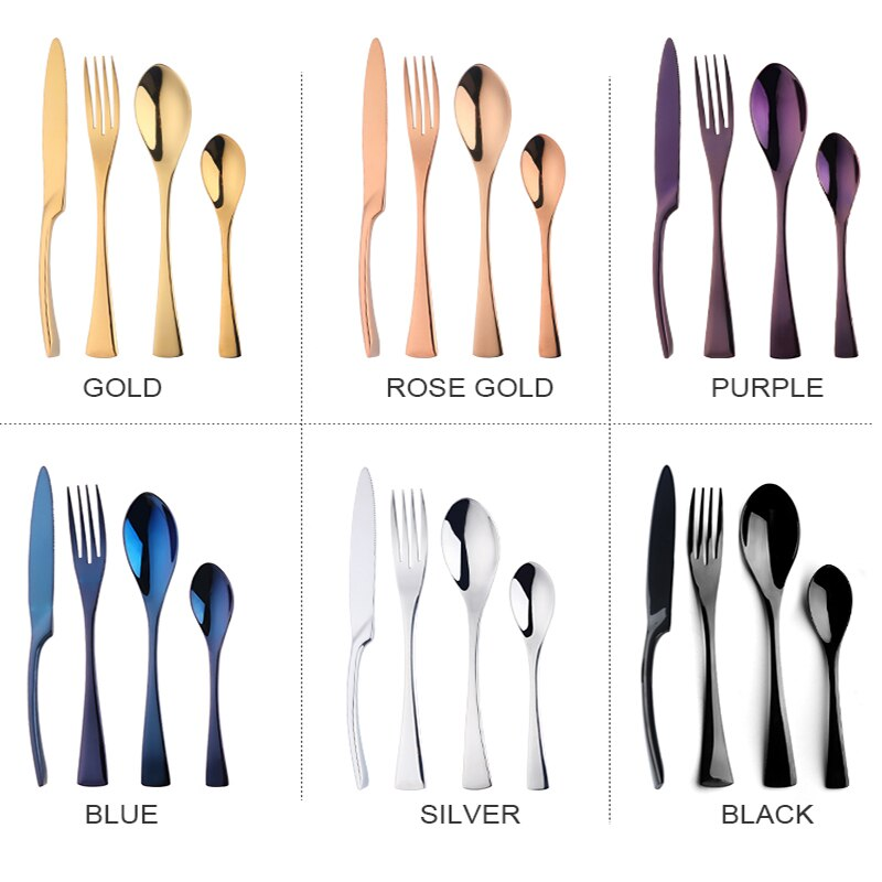 Colourful Flatware Set